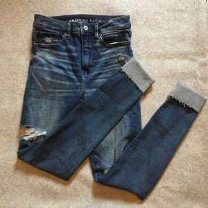 American Eagle Super Hi-Rise Jegging Skinny Jeans